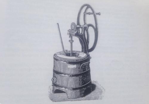 1910 - 1920 - il mantecatore e il laboratorio: come eravamo