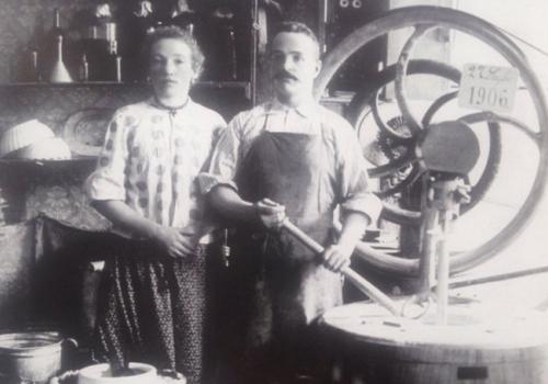 1959 - il gelato, i gelatieri e i produttori si mettono in mostra a Longarone